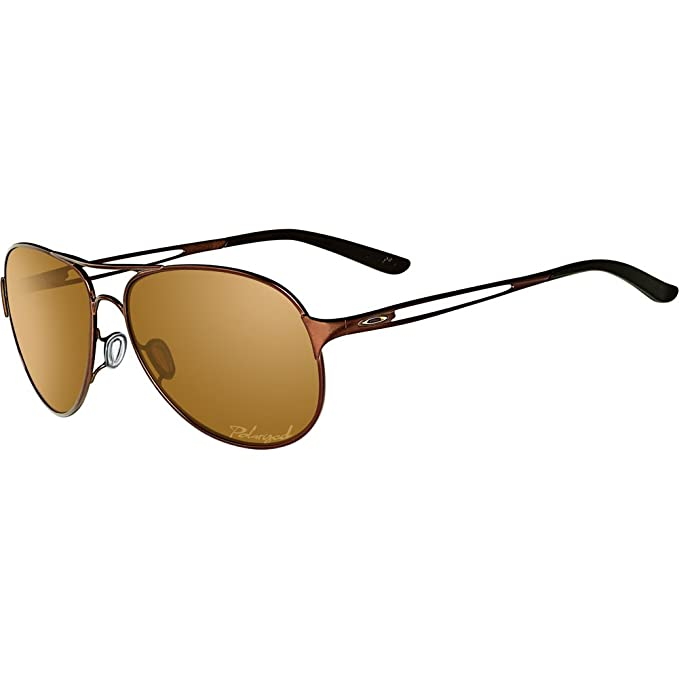efbd4a0b7f Oakley Caveat Women s Polarized Sunglasses - Brunette Bronze   One Size   Amazon.ca  Clothing   Accessories