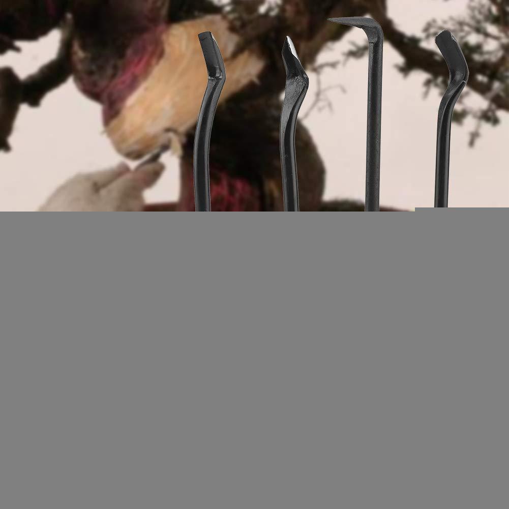 Set Acciaio Piccolo Portatile Robusto affilato Albero frutto Prato Terreno agricolo trapianto Giardinaggio Strumenti Bonsai idalinya Coltello da innesto attrezzo Giardino diserbo 4pz