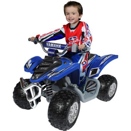 Yamaha Raptor ATV 12-Volt Battery-Powered Ride-On by Essential Products