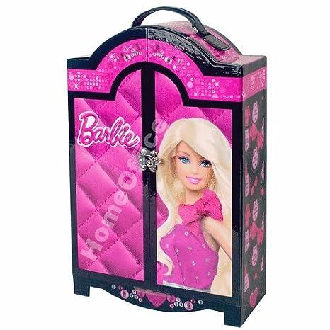 Guardaroba Di Barbie.Barbie Portatrucchi Di Barbie A Forma Di Guardaroba 68