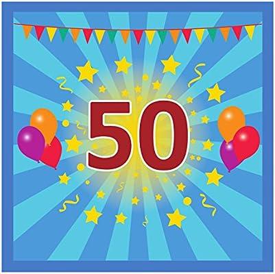 Libro de visitas Cumpleaños 50: Amazon.es: Hogar