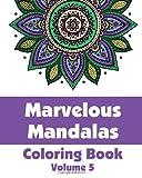 Marvelous Mandalas Coloring Book (Volume 5), Various, 1499230834