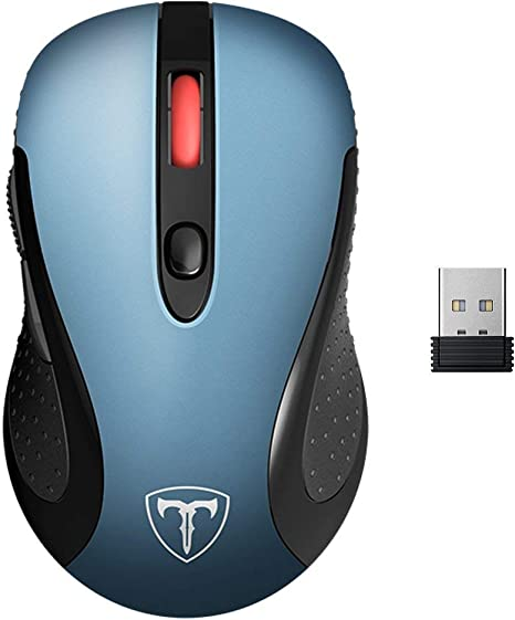 Ergonomic Wireless Gaming Mouse 5 Adjustable DPI Portable 6 Buttons