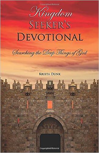 Book Kingdom Seeker's Devotional: Searching the Deep Things of God