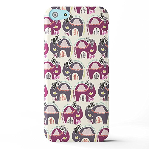 Koveru Back Cover Case for Apple iPhone 5C - Elephant Abstract