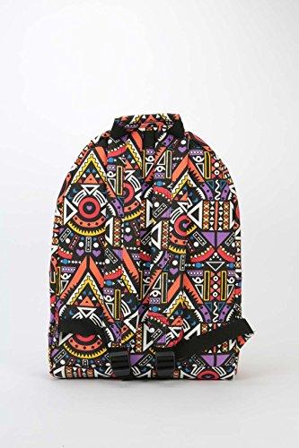 41 Mayan Pac Black Backpack Daypack Pop Casual Mi cm xYPaAqwA
