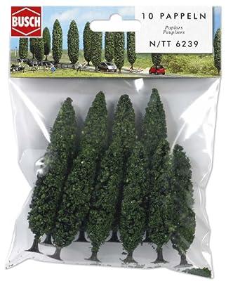 Busch 6239 NEW N//TT 4X95MM//6X75MM POPLAR TREE