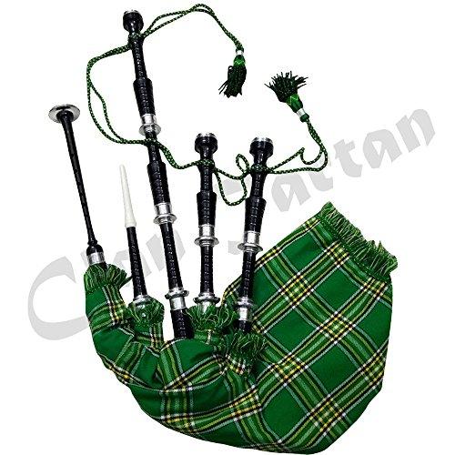 [해외]Great Highland Bagpipes 장미 나무 실버 책꽂이가있는 스코틀랜드의 백파이프 산/Great Highland Bagpipes Rose wood Silver Mounts Scottish Bagpipes with Tutor Book