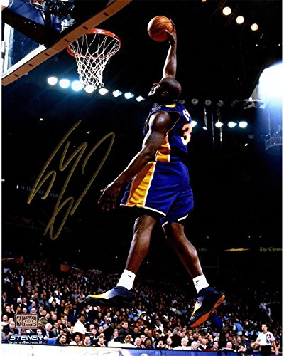 SHAQUILLE O'NEAL Autographed (In Gold)