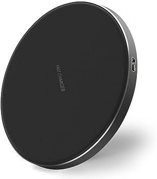 Leehur Cargador Inalámbrico Rápido Wireless Quick Charger, Cargadores por Inducción para iPhone X 88 Plus, Samsung S8S8PlusS7 EdgeS7S6 Edge