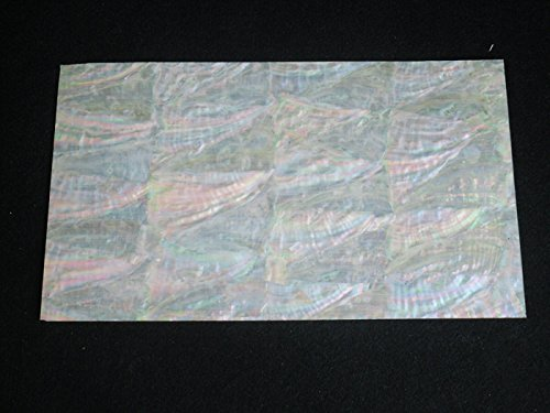 Prism Pearl Blue - KOREAN AWABI sheet shell inlay 240 x 140 x 0.15mm