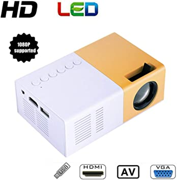 Tosuny HD Mini proyector 1080P, Proyector Portátil 1500 LMS LED ...