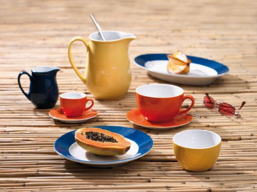 KAHLA Pronto Butter Dish Angular, White Color, 1 Piece by KAHLA - PORCELAIN FOR THE SENSES (Image #3)