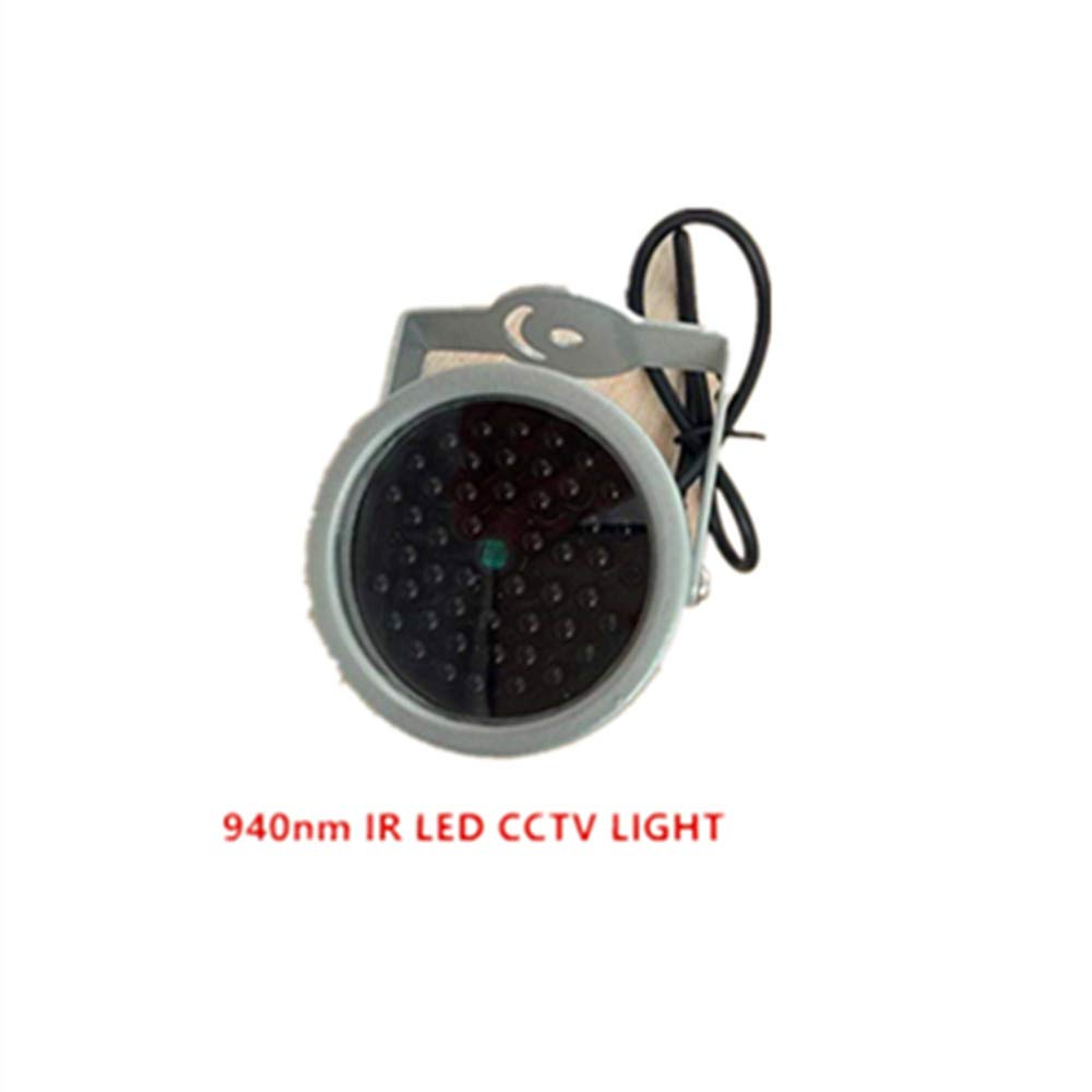 940nm IR LED illuminator Security Lighting 48PCS INSIVIBLE Infrared LED For Night Vision Surveillance CCTV Camera Fill light MeiSaiDe