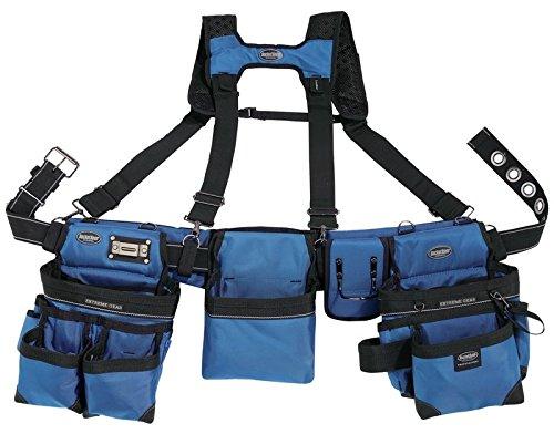 Bucket Boss Bucketboss 55185-RB, Three Bag Framers Rig, Royal Blue (Blue Rig)