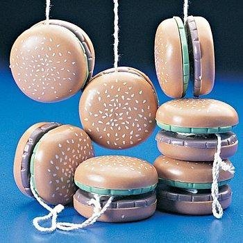 Yo Hamburger Yos (Hamburger yoyos (1 dozen) - bulk)