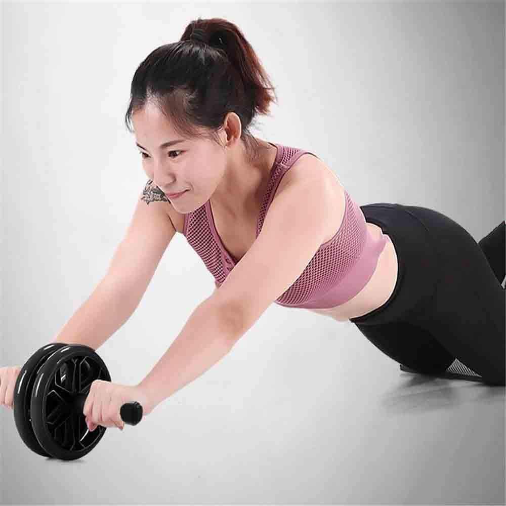 WXH Yoga Abdominal Trainer Kit, Rueda AB, Soporte Push-Up, Extensor de Brazo de Pecho Agarre de Mano Barra de Ejercicios Ejercitador de Peso, Equipo de Gimnasio en casa: Amazon.es: Hogar