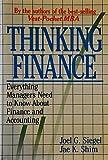 Thinking Finance, Joel G. Siegel and Jae K. Shim, 0887304427
