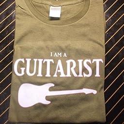 Amazon Co Jp Identit The Guitarist Tシャツ ストラトキャスター ギター St S ホワイト 服 ファッション小物