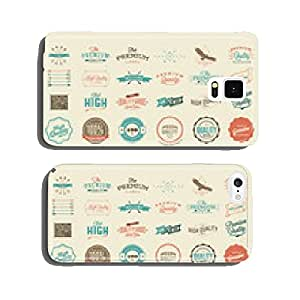 Premium Quality Guarantee Vector Label set cell phone cover case Samsung S5
