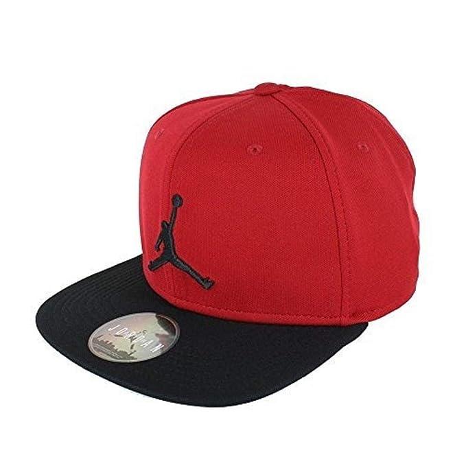 Nike Jordan Jumpman Snapback Gorra, Hombre, Rojo (Gym Red) / Negro, Talla Única: Amazon.es: Deportes y aire libre