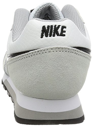 Grey 100 Zapatillas Md 2 Wmns Blanco Mujer Nike Para white wolf Deporte Runner De black OA6ZOwx