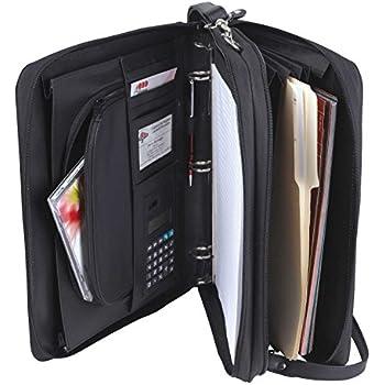 Amazon.com : Samsonite Cosco Zip Bi-Fold Pad folio, 8 1/2 x 11 ...
