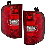 Driver and Passenger Taillights Tail Lamps Replacement for Chevrolet GMC Pickup Truck 25958482 25958483