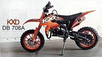 MOTO CROSS/Bolsillo Cross - KXD -706 A-10 Pulgadas Ruedas - Naranja