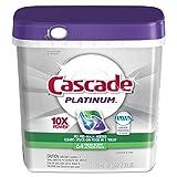 Cascade 97726 ActionPacs, Fresh Scent, 34.5 oz, 62 per Bag (Case of 3 Bags)