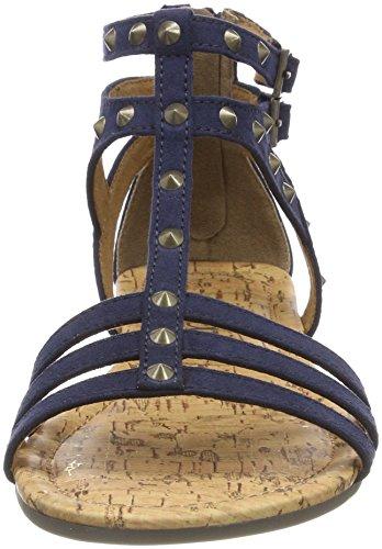 Femme Salomés 28144 S navy oliver Bleu ZASAaq