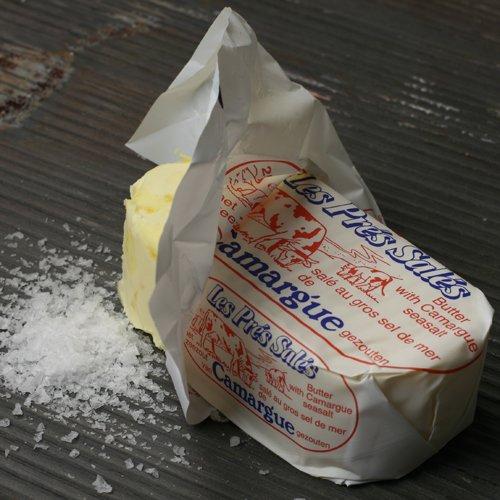 Les Pres Sales Butter with Camargue Sea Salt (8.8 ounce)