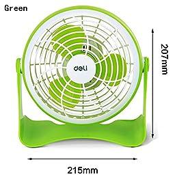 TOYM US- Computer USB mini fan small fan ( Color : Green )