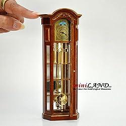 Working Dollhouse Miniature Grandfather Clock V4010C-NWNG 1:12 scale