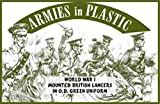 Armies in Plastic WWI British Lancers in O.D. Green