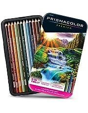 Premier Colored Pencils, Soft Core, Landscape Set, 12