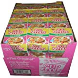 Nissin the Original Cup Noodles with Shrimp Twenty-four 2.5 Ounce Ramen Cups