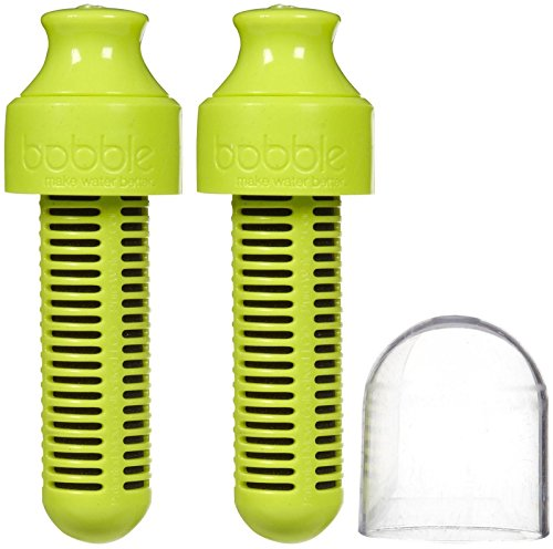 Bobble Replacement Filter, Lime, 2pk by Bobble