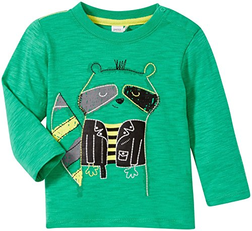 - Petit Lem Baby Boys' Little Rebel Tee -Green-6 Months