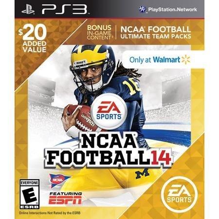 NCAA Football 14 with BONUS Ultimate Team Packs - Playstation 3 by EA Sports