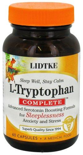 Lidtke Technologies L-tryptophane 500mg 60 caps