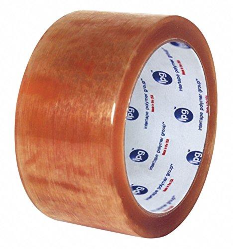 Polypropylene Carton Sealing Tape, Rubber Adhesive, 48mm X 100m, 36 PK by IPG
