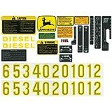 Decal Set John Deere 4020 3020 4000 4010 3010 4320 2520 2510 4520 4620 5020 6030 5010 AR34177 AR47091 AR52393