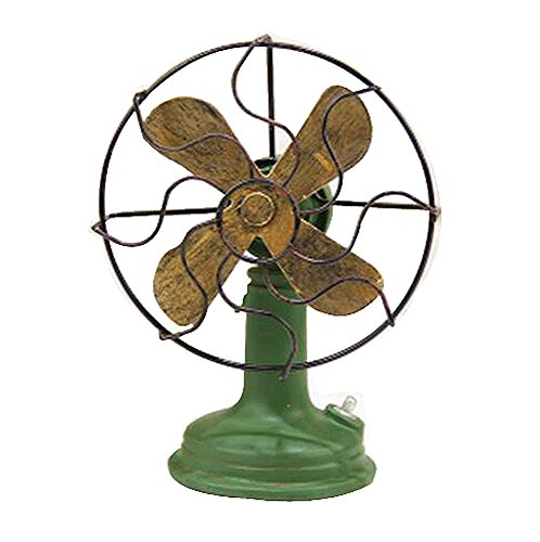 DRAGON SONIC Classic Retro Style Objects Models Home Decorations Ornaments (The Old Fan)