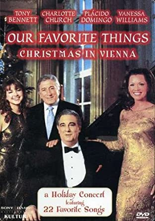 Amazon.com: Our Favorite Things - Christmas in Vienna / Tony ...