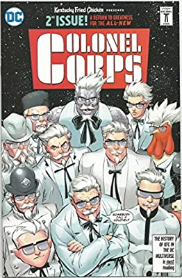 DC Comics Kentucky Fried Chicken Presents Colonel Corps #2 Comic Book SD Comic Con 2016
