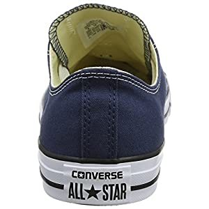 Converse Unisex Chuck Taylor All Star Low Top Navy Sneakers - 9.5 B(M) US Women / 7.5 D(M) US Men