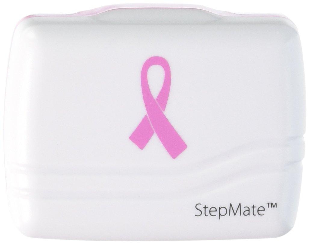 Prestige Medical Stepmate Pedometer, Pink Ribbon