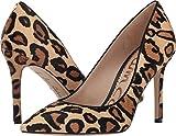Sam Edelman Women's Hazel New Nude Leopard Leopard Brahma Hair Shoe