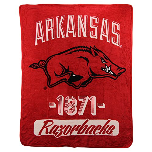 The Northwest Company NCAA Collegiate Varsity Super Soft Plush Throw Blanket 46